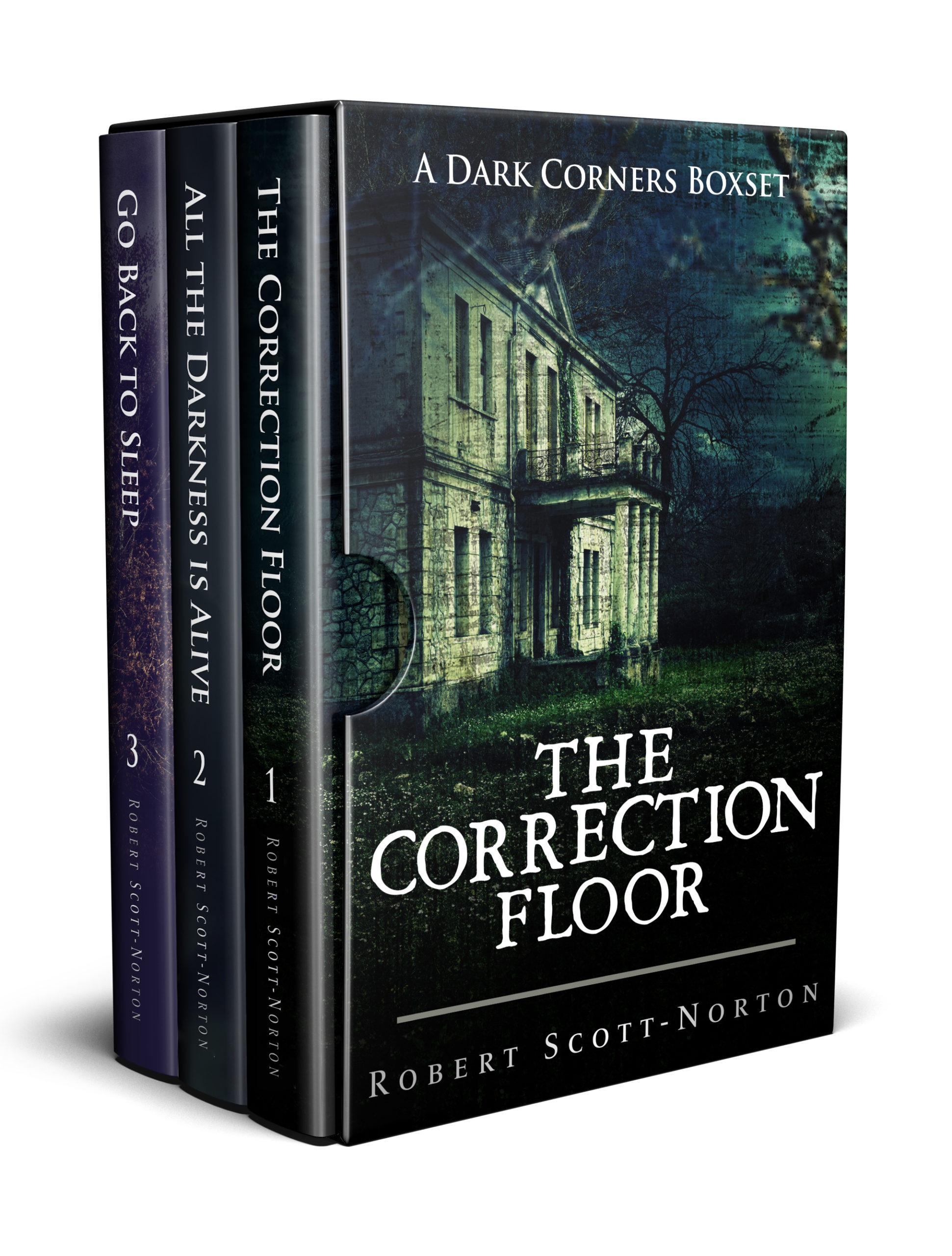 Boxset of books 1 to 3 in Dark Corners series