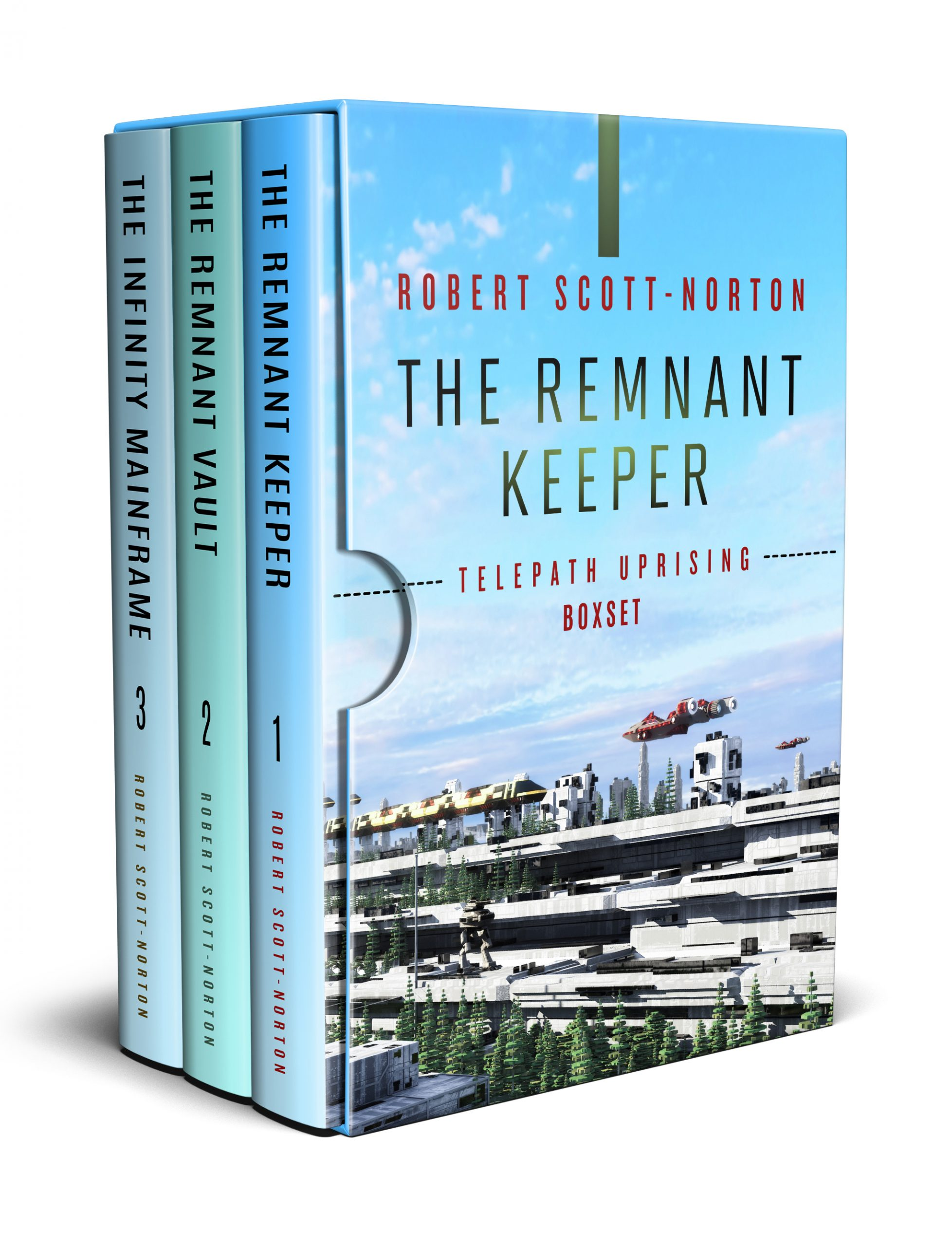 Boxset of three telepath uprising books