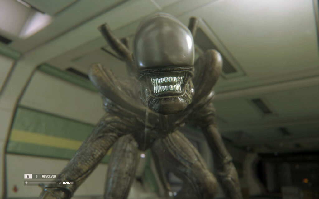 Playing Alien Isolation again